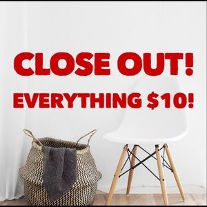 Everything $10 in my closet!!!